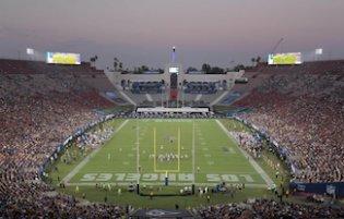 LA Rams Empty Stadium
