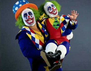 Doink and Dink Waving
