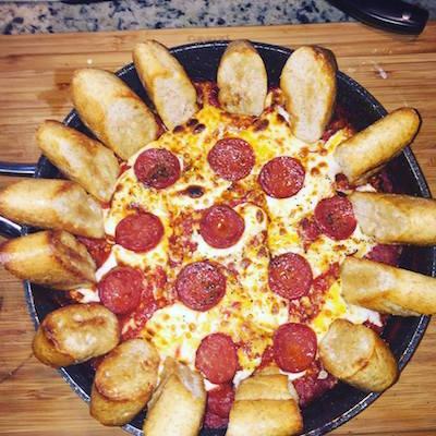 NFL Pizza Dip