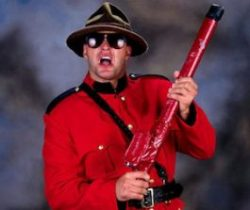 The Mountie Promo Shot