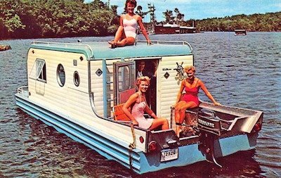 1960s House Boat