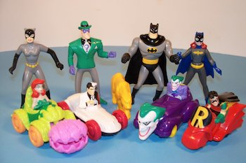 Happy Meal Toys Batman