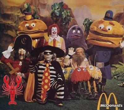 McDonalds Crew 1970s
