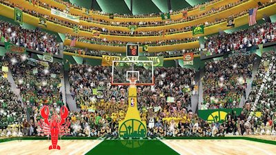 SuperSonics New Arena Proposal