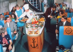 Serving Lobster on a Plane