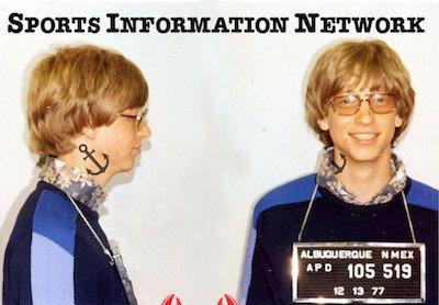 Bill Gates SIN Mugshot