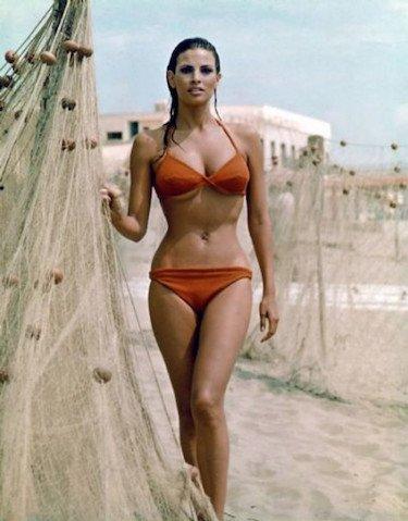 70s Beach Babe
